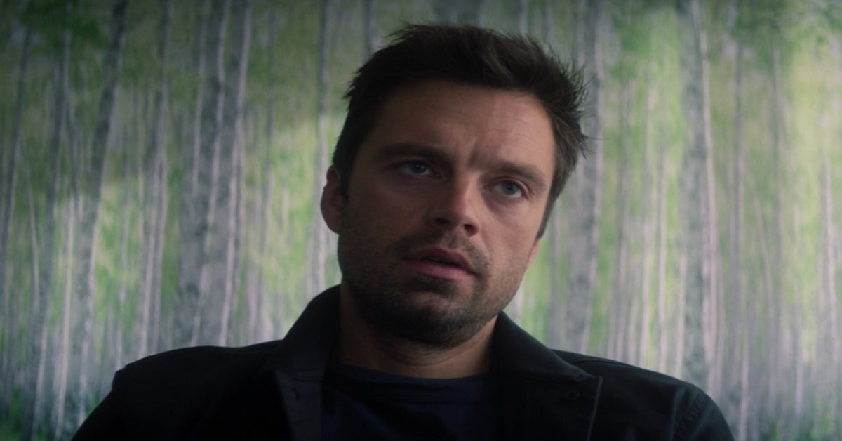 The Falcon and the Winter Soldier Bucky Barnes therapy Sebastian Stan