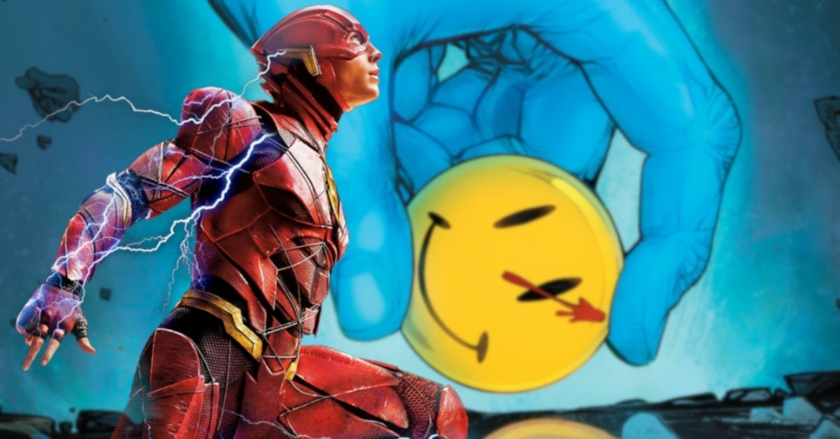 The Flash Movie Watchmen Doomsday Clock Connections Theory Batman Teaser