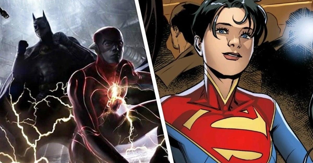 the flash supergirl lara lane kent