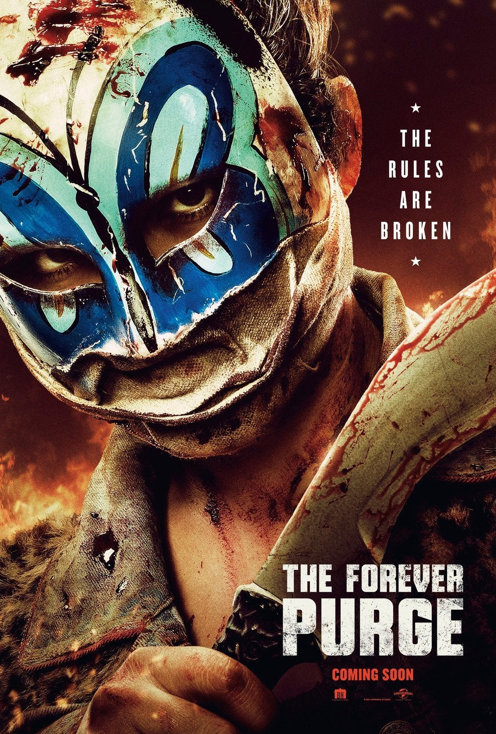 the forever purge poster 2