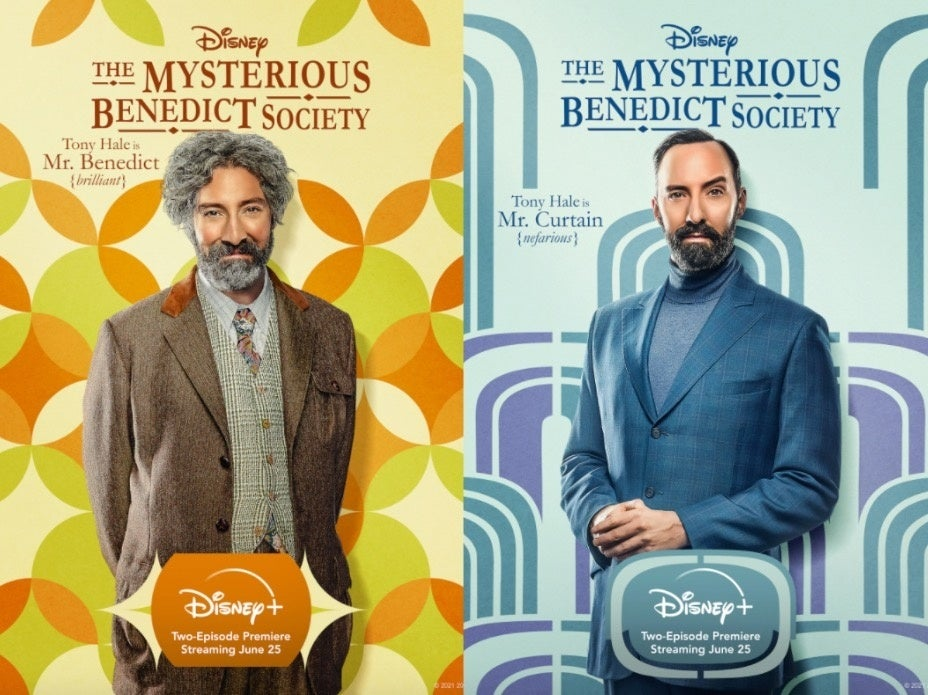 The Mysterious Benedict Society twin posters