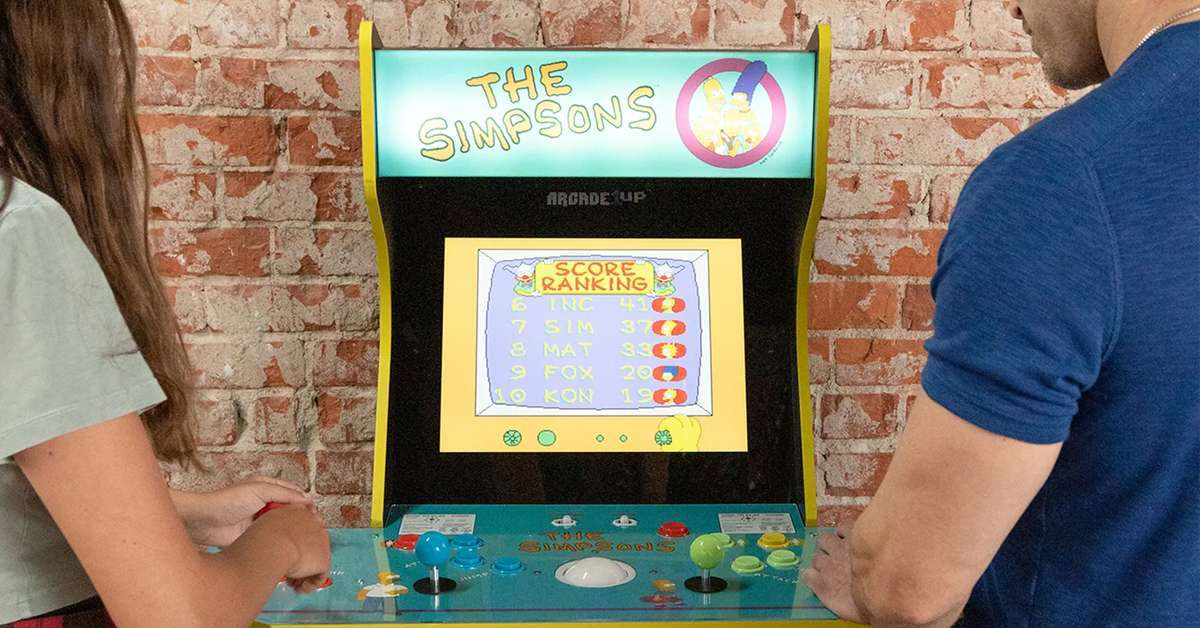 the-simpsons-arcade-1up-top