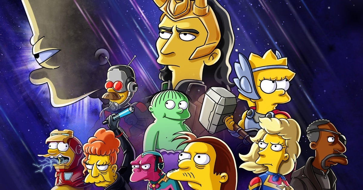 the simpsons marvel short the good the bart and the loki