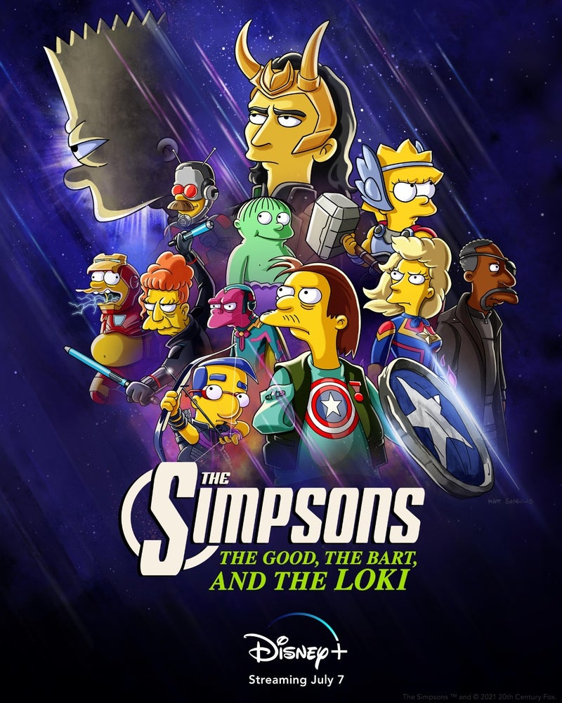 the simpsons the good the bart and the loki