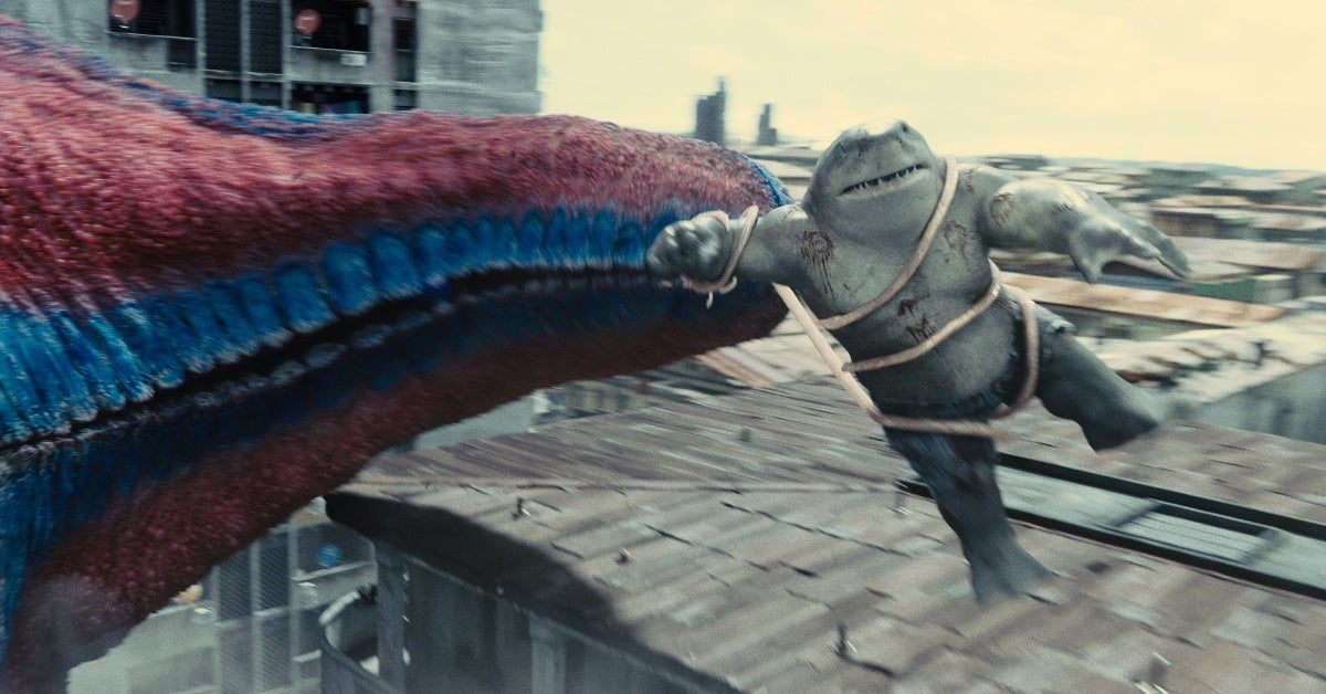 the suicide squad starro king shark