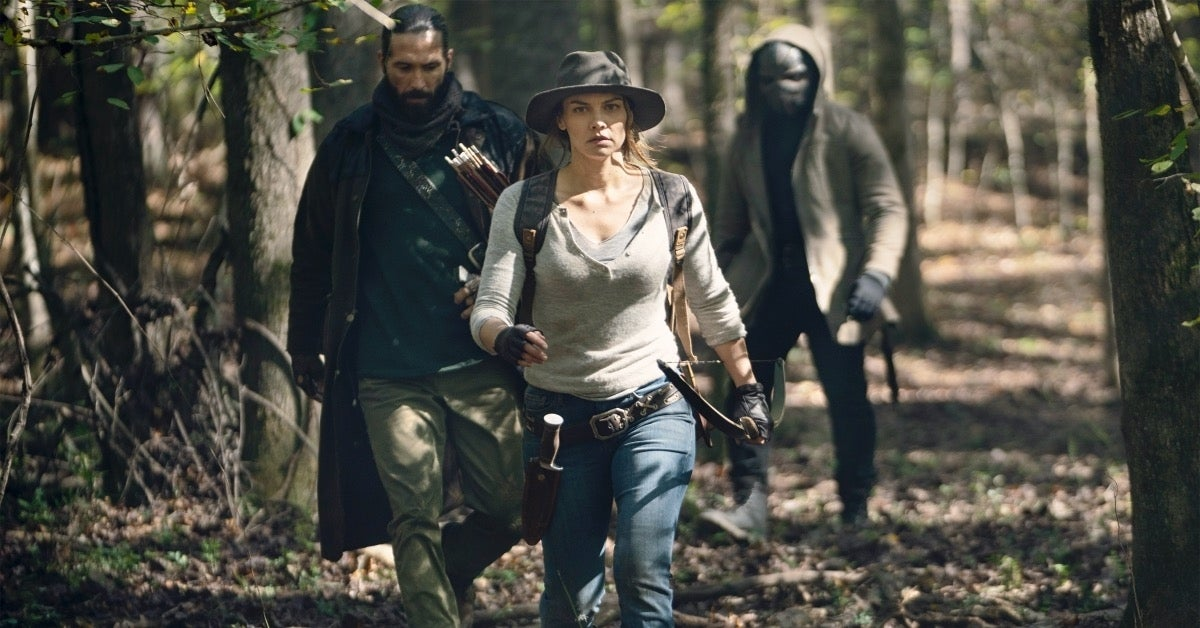 The Walking Dead Maggie and the Wardens