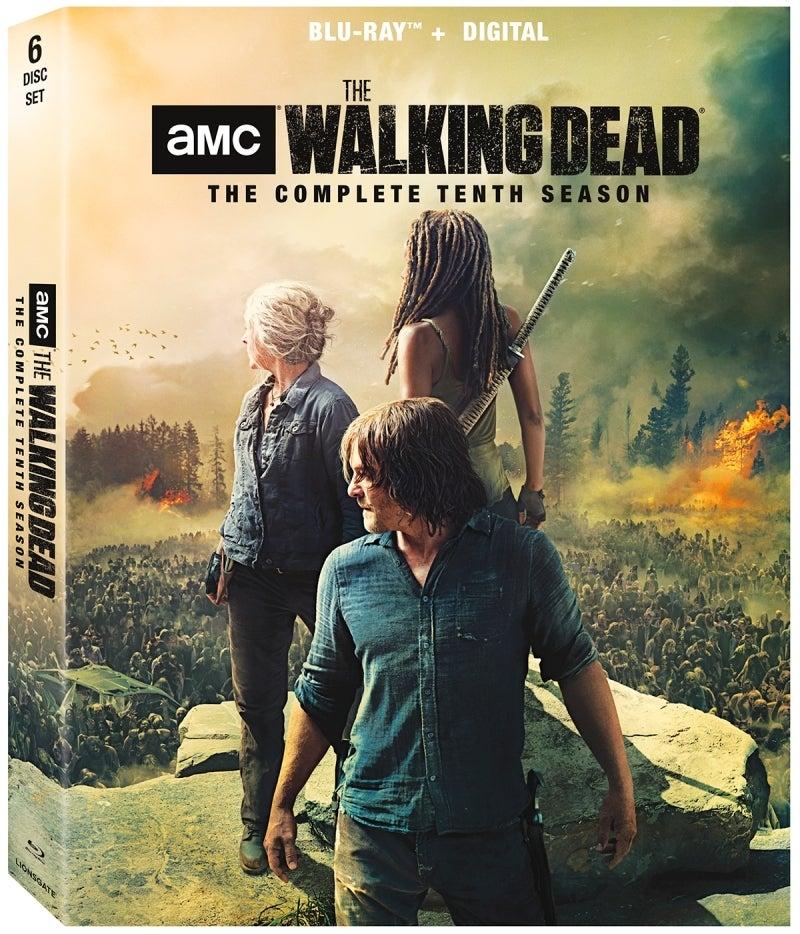 The Walking Dead Season 10 Bluray