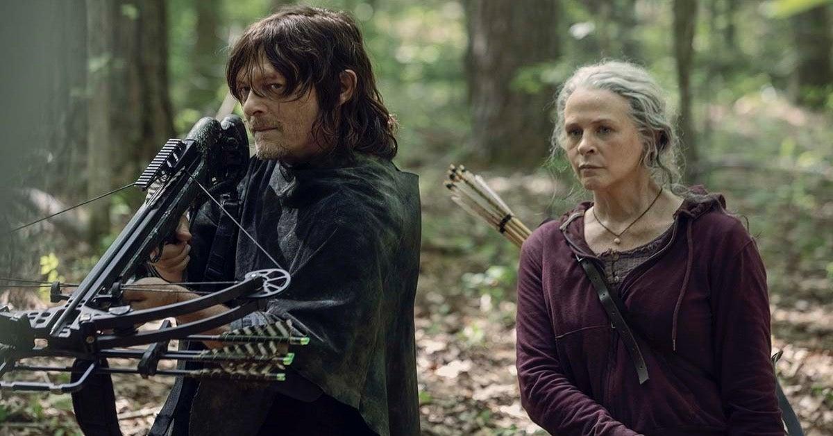 The Walking Dead Season 10 Daryl Carol