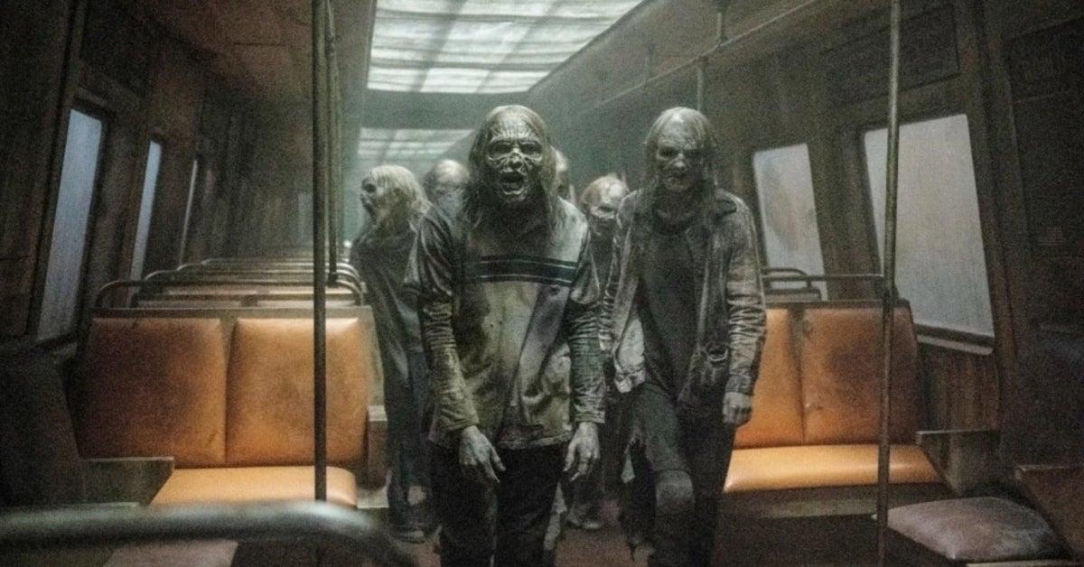 The Walking Dead Season 11 subway