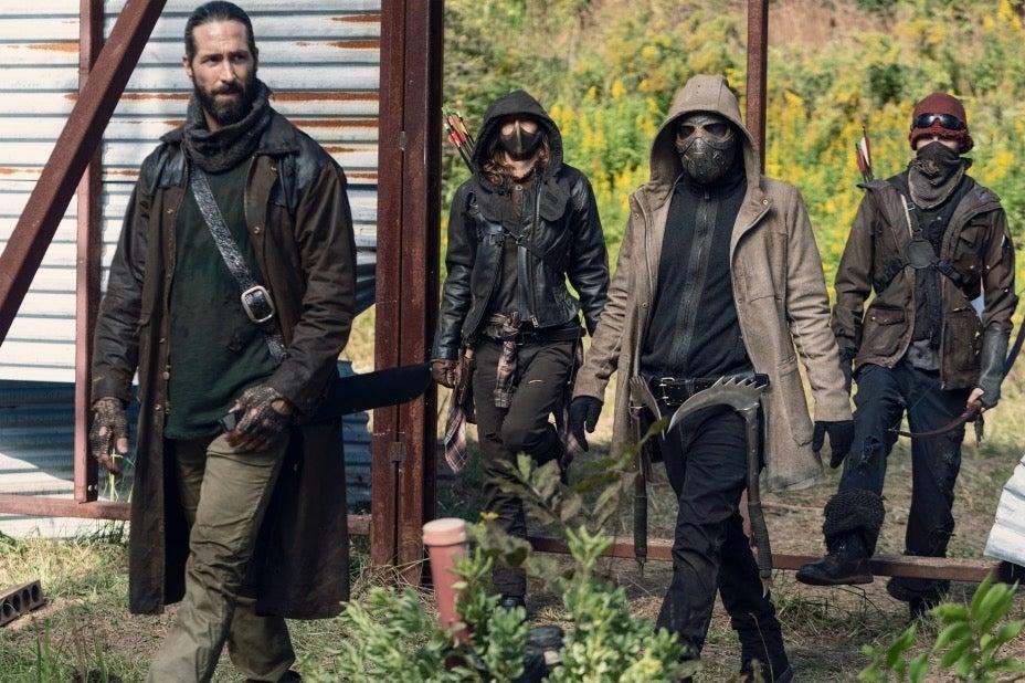 The Walking Dead The Wardens