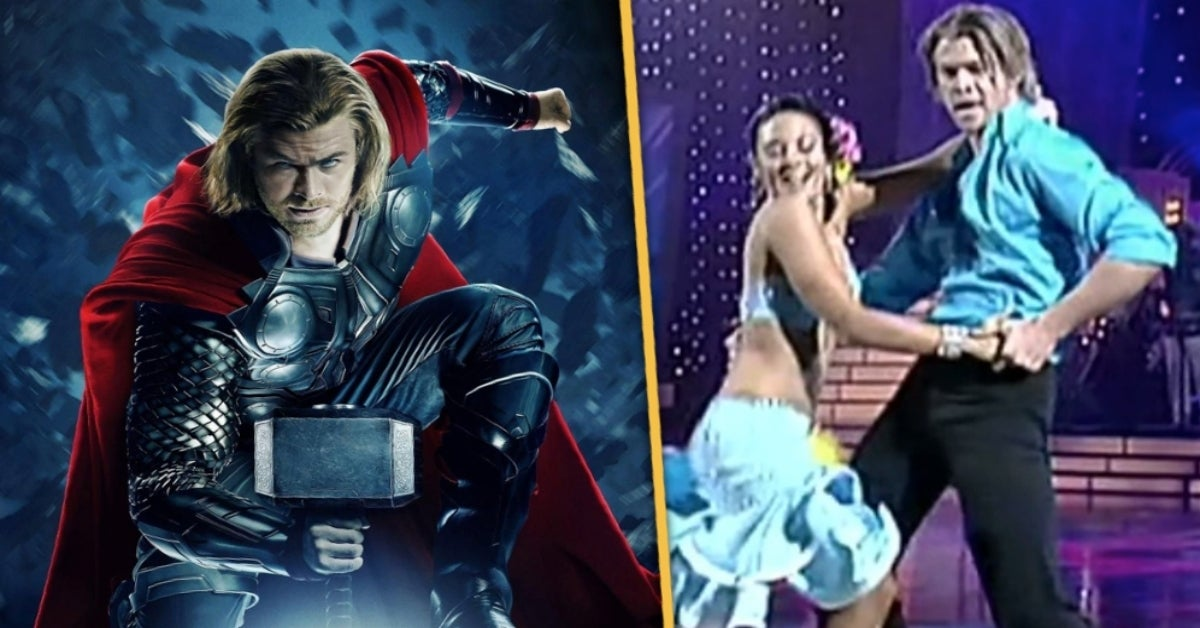 Thor Chris Hemsworth Dancing with the Stars Australia Marvel