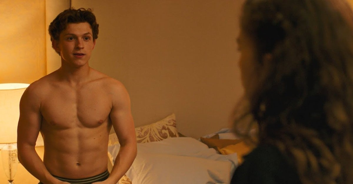 Tom Holland Spider Man Movie Sex Scene Joke Idea