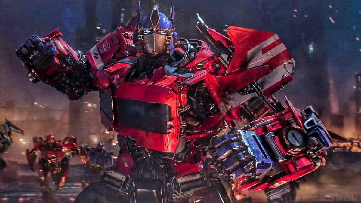 Transformers Bumblebee Movie Optimus Prime