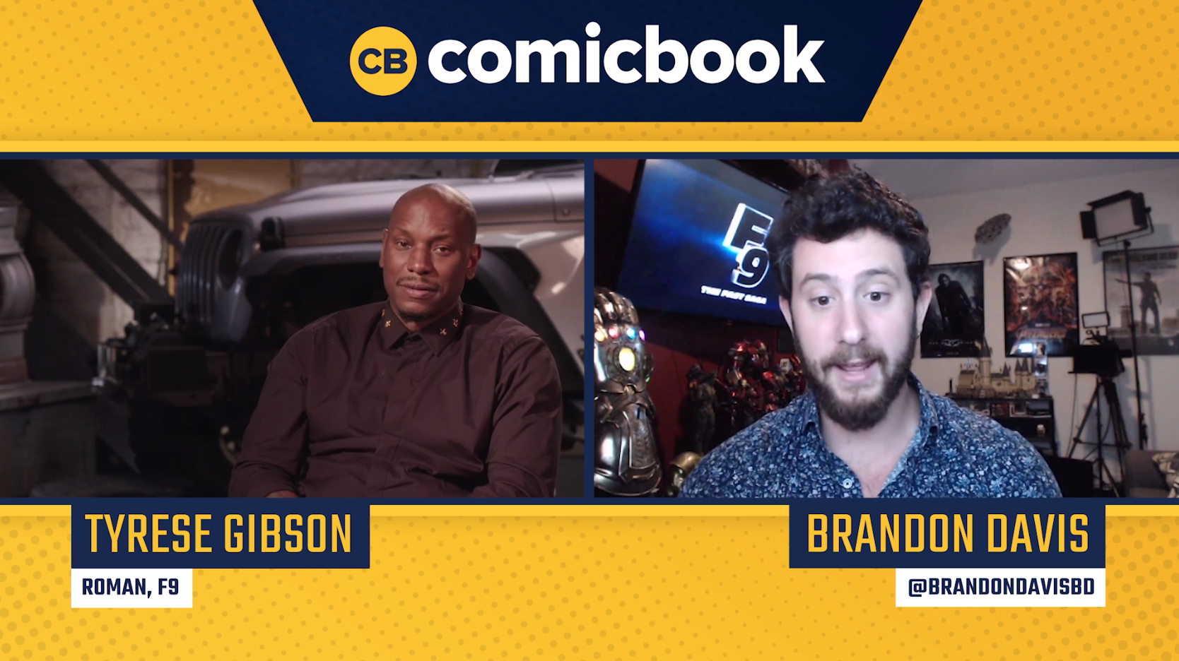 Tyrese Gibson Talks F9 - Exclusive Comicbook.com Interview