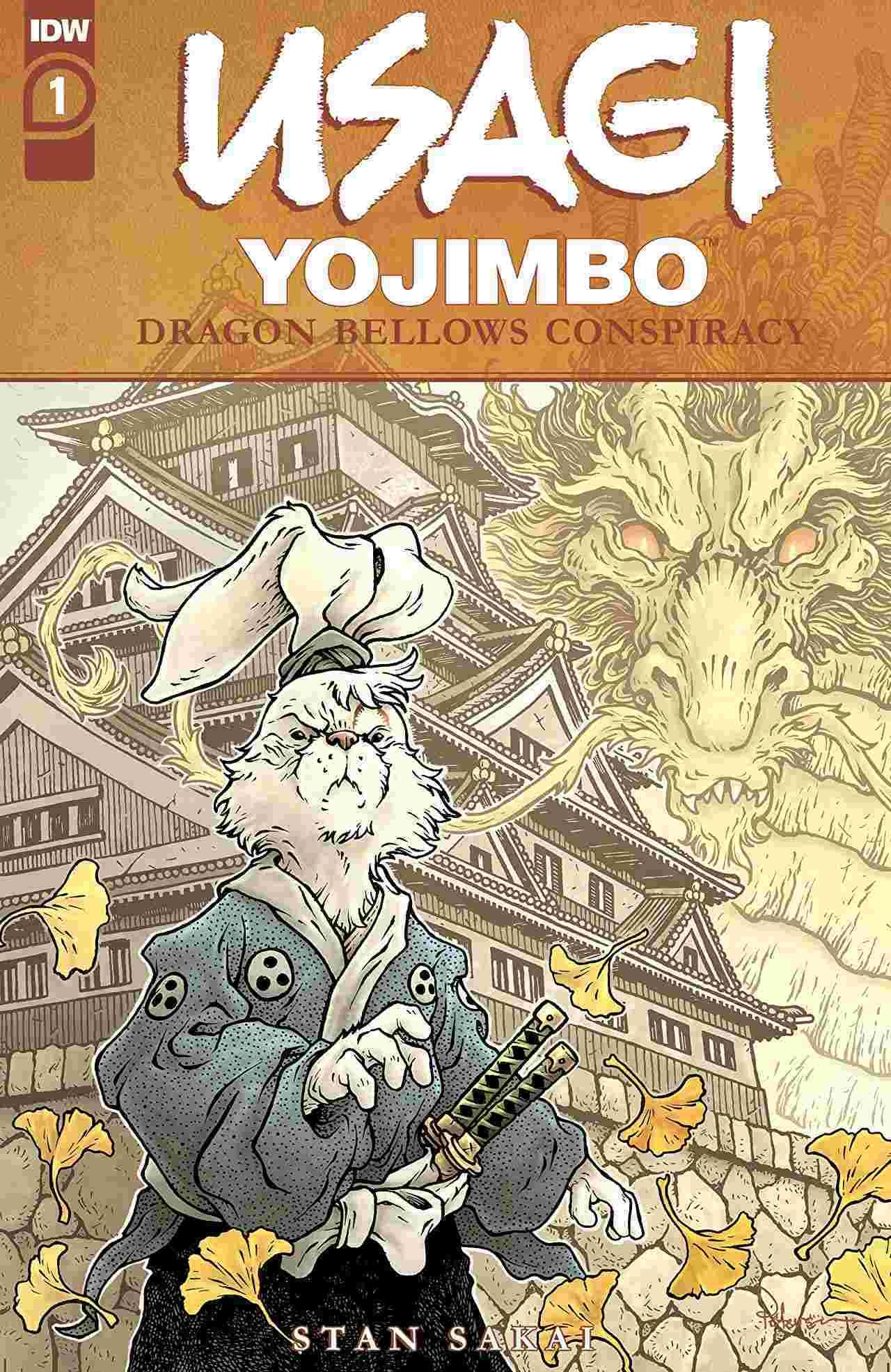Usagi Yojimbo The Dragon Bellow Conspiracy #1