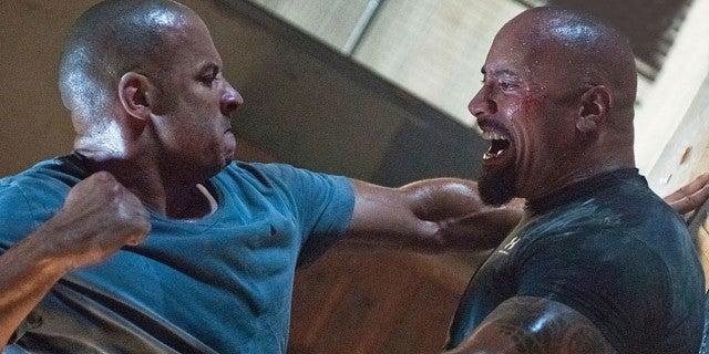 Vin Diesel Fast Furious 9 Talks Fued Dwayne Rock Johnson