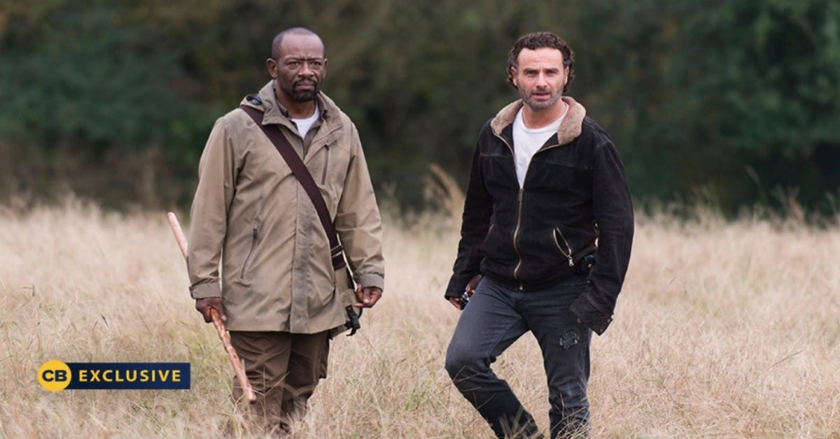 Walking Dead Morgan Jones Lennie James Andrew Lincoln Rick Grimes