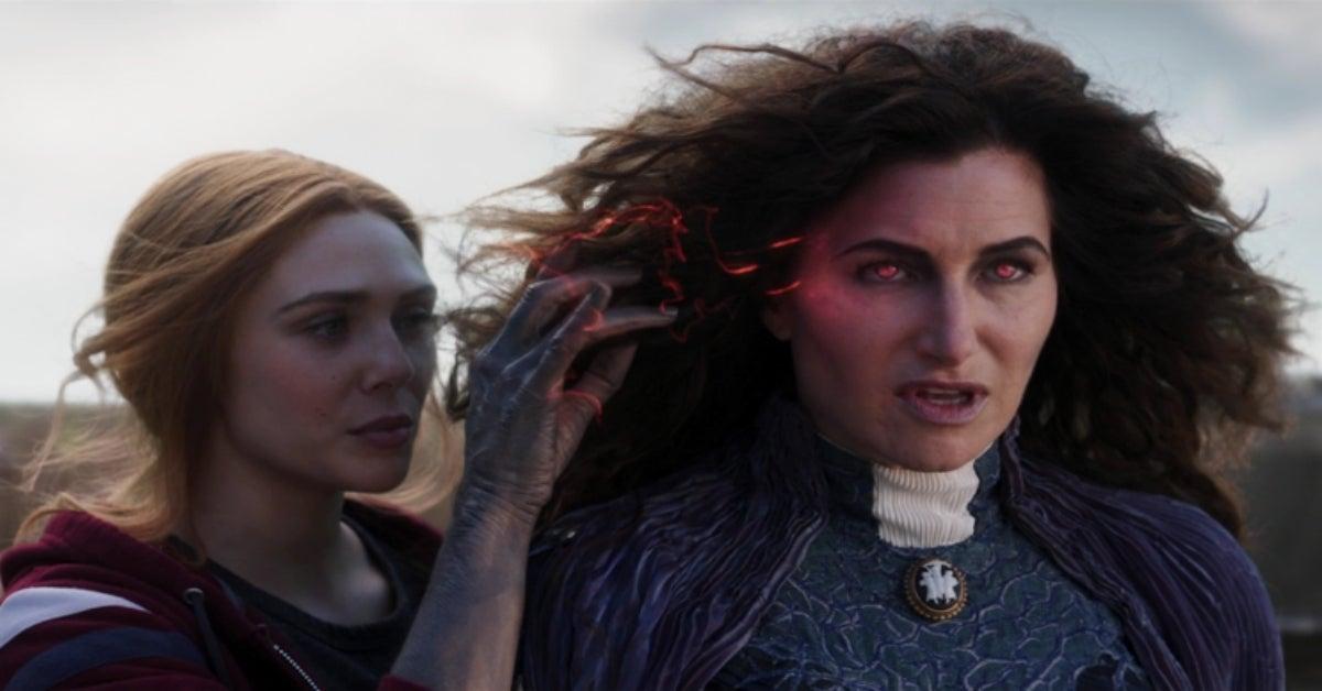 WandaVision Agatha Harkness Scarlet Witch Kathryn Hahn