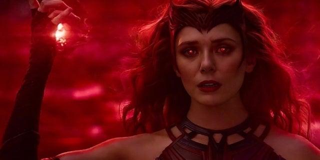 WandaVision Scarlet Witch Elizabeth Olsen