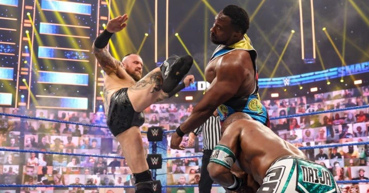 WWE-Aleister-Black-Release-Big-E