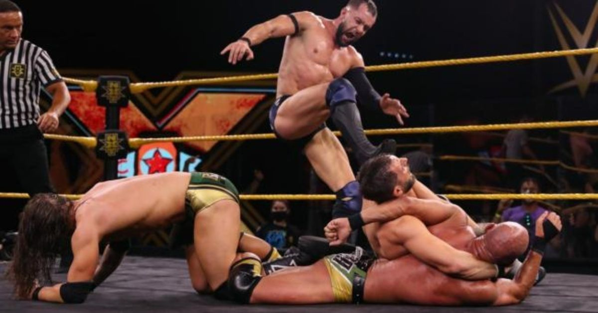WWE NXT Finn Balor Adam Cole Tommaso Ciampa Johnny Gargano