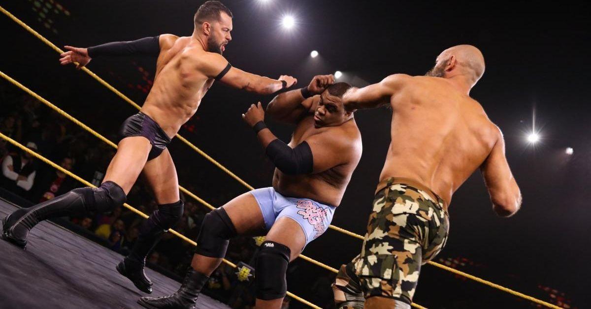 WWE NXT Finn Balor Keith Lee Tommaso Ciampa