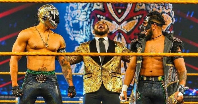 WWE NXT Santos Escobar Legado Del Fantasma