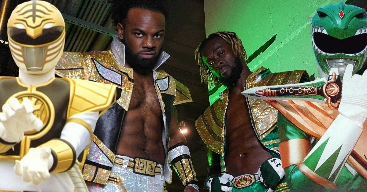 WWE Raw The New Day Power Rangers Gear
