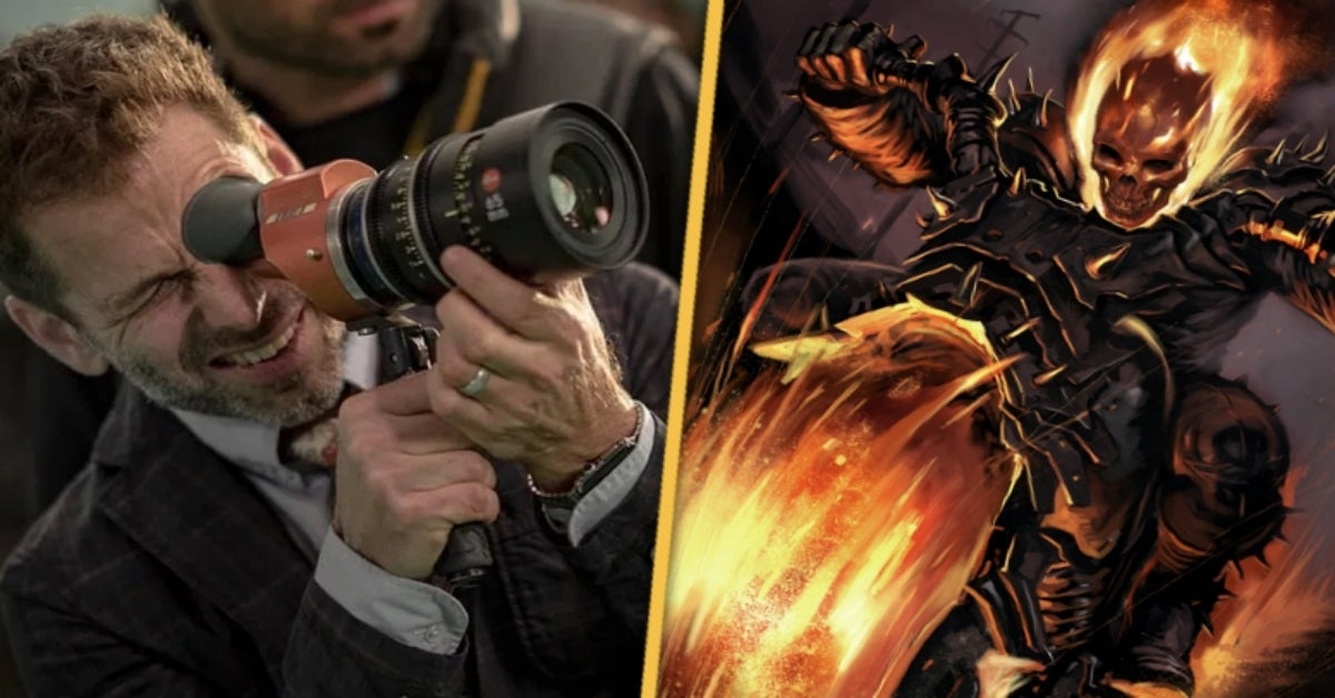 Zack Snyder Ghost Rider Marvel Studios