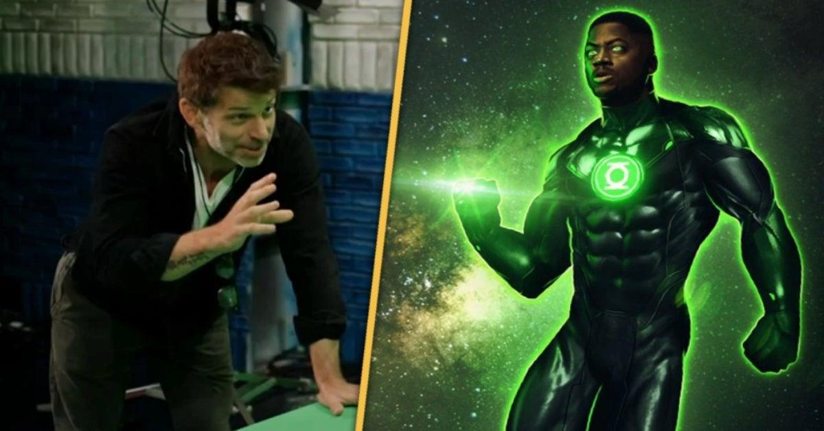 Zack Snyder Justice League Green Lantern John Stewart