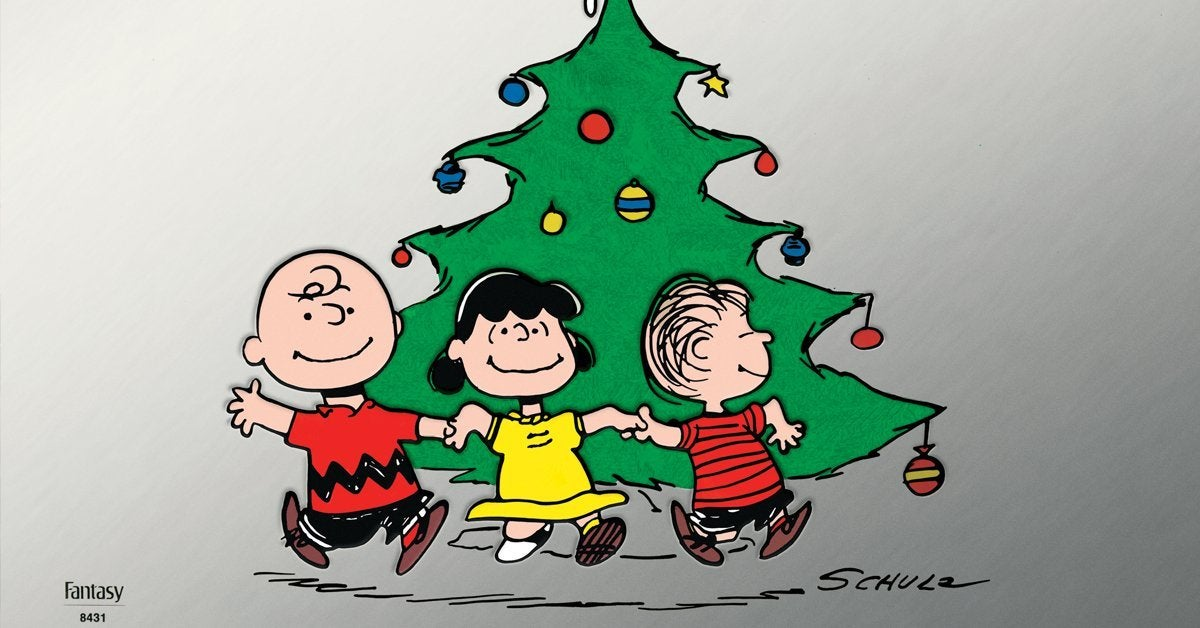 a charlie brown christmas limited edition silver foil vinyl record header