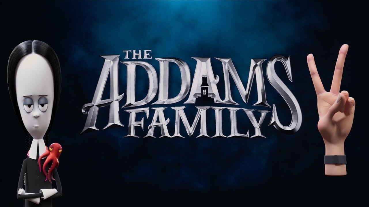 addams family 2 movie logo