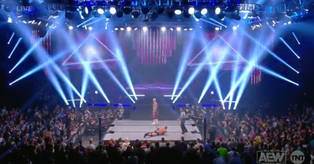 AEW-Dynamite-Road-Rager-Loses-Power
