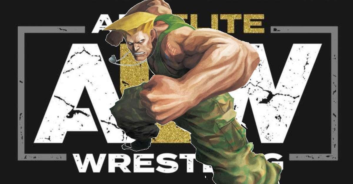 AEW Street Fighter