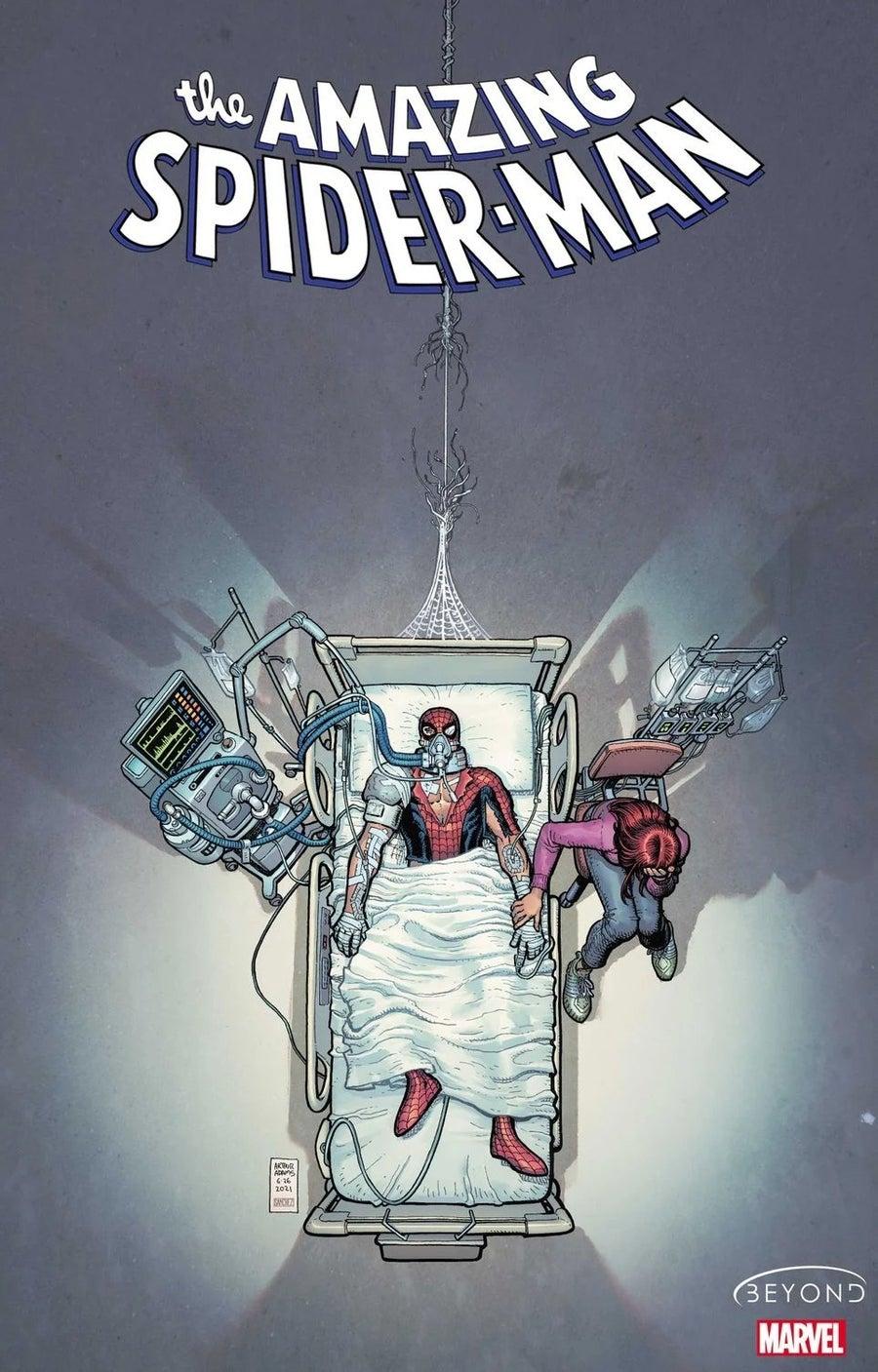 Amazing Spider Man 75 Cover Art Death Peter Parker by Arthur Adams