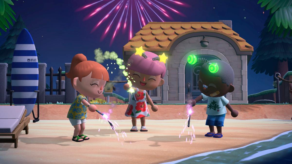 Animal Crossing Fireworks-1