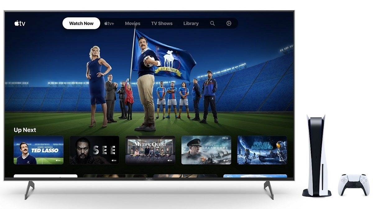 Apple TV PS5