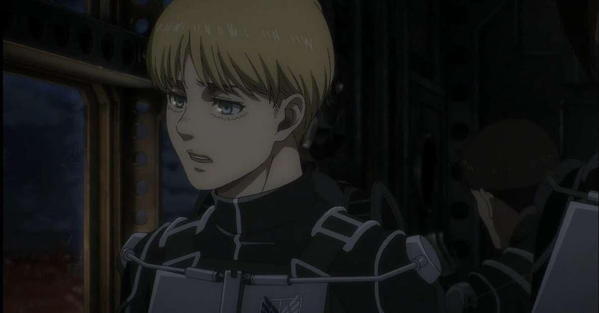 Attack On Titan Season Four Armin