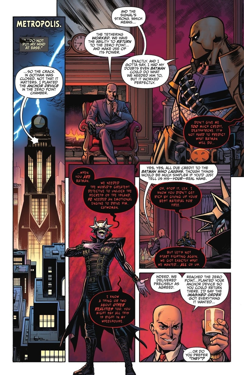batman fortnite zero point 6 lex luthor the batman who laughs
