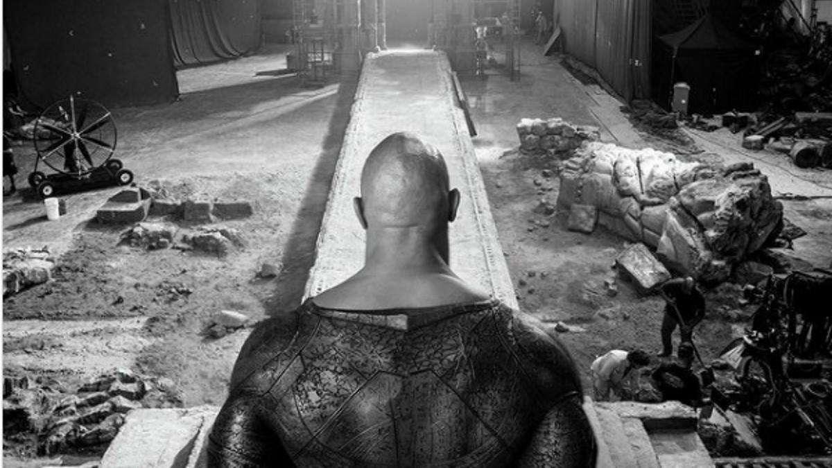 Black Adam Movie Dwayne Johnson Costume