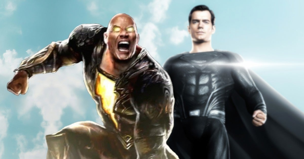 Black Adam Superman Power Levels Explained Dwayne Rock Johnson