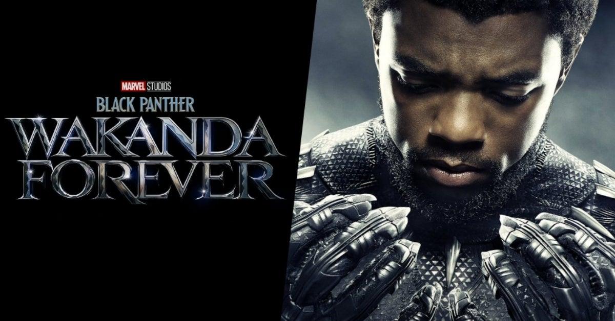 Black Panther Wakanda Forever Chadwick Boseman COMICBOOKCOM