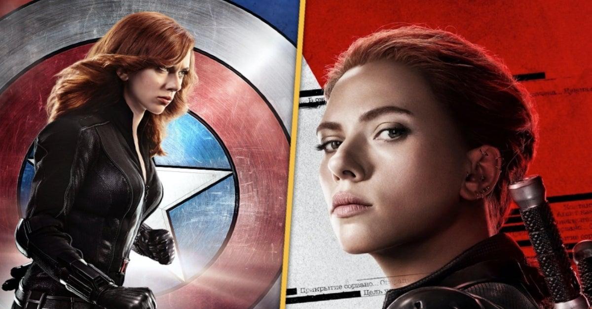 Black Widow Civil War Infinity War