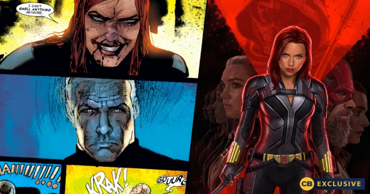 Black Widow movie comic broken nose comicbookcom