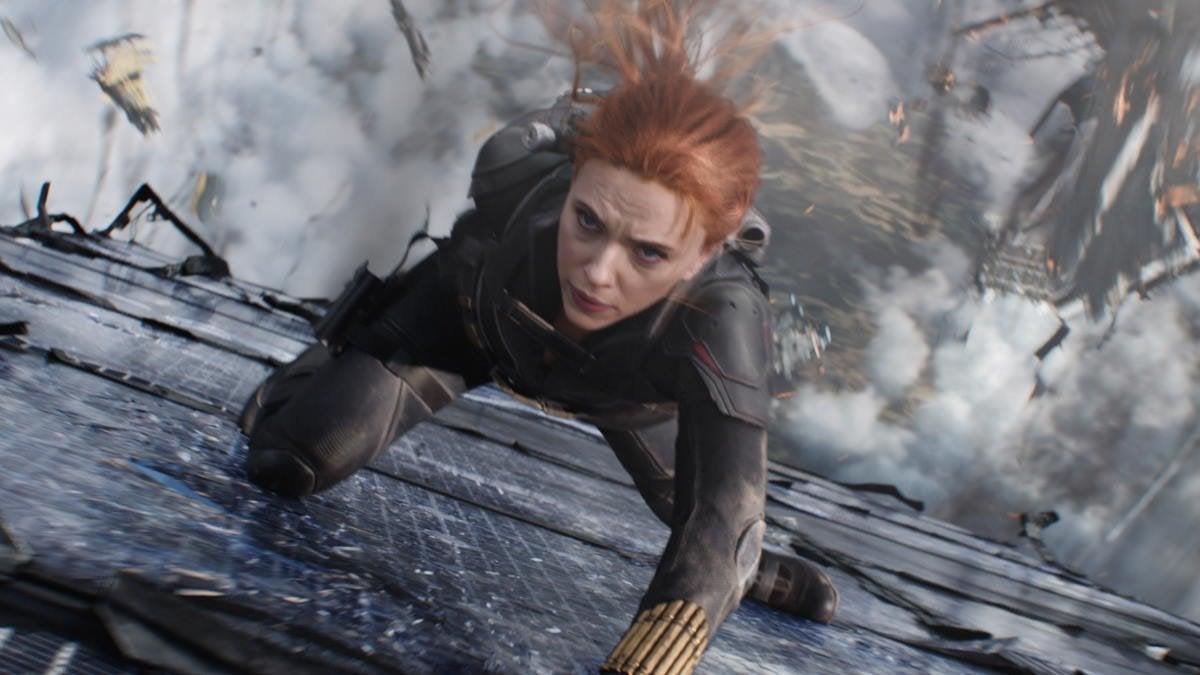 Black Widow Movie Disney Plus Box Office Worldwide Opening Weekend