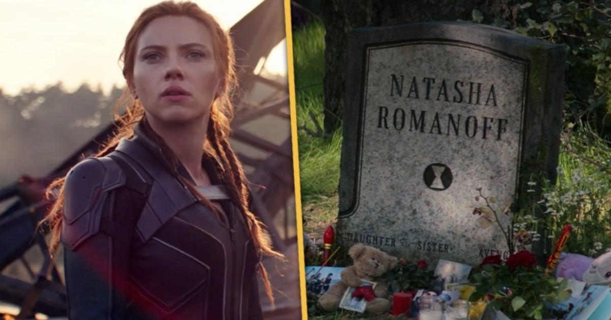 Black Widow Natasha Romanoff grave