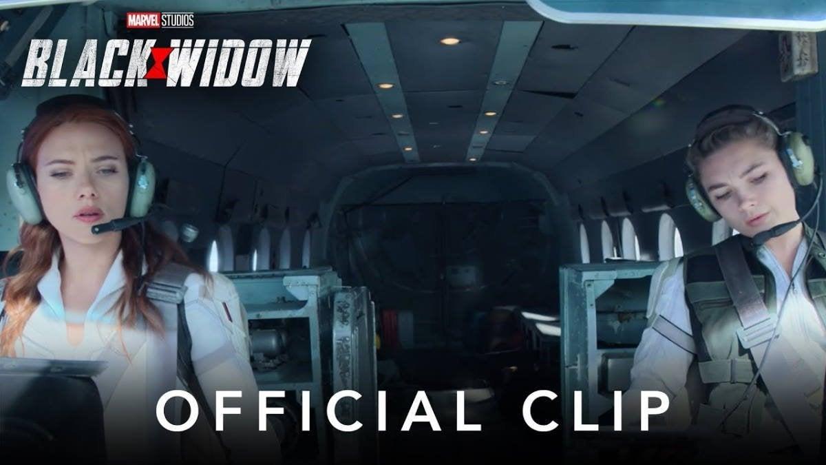 Black Widow Prison Break Clip