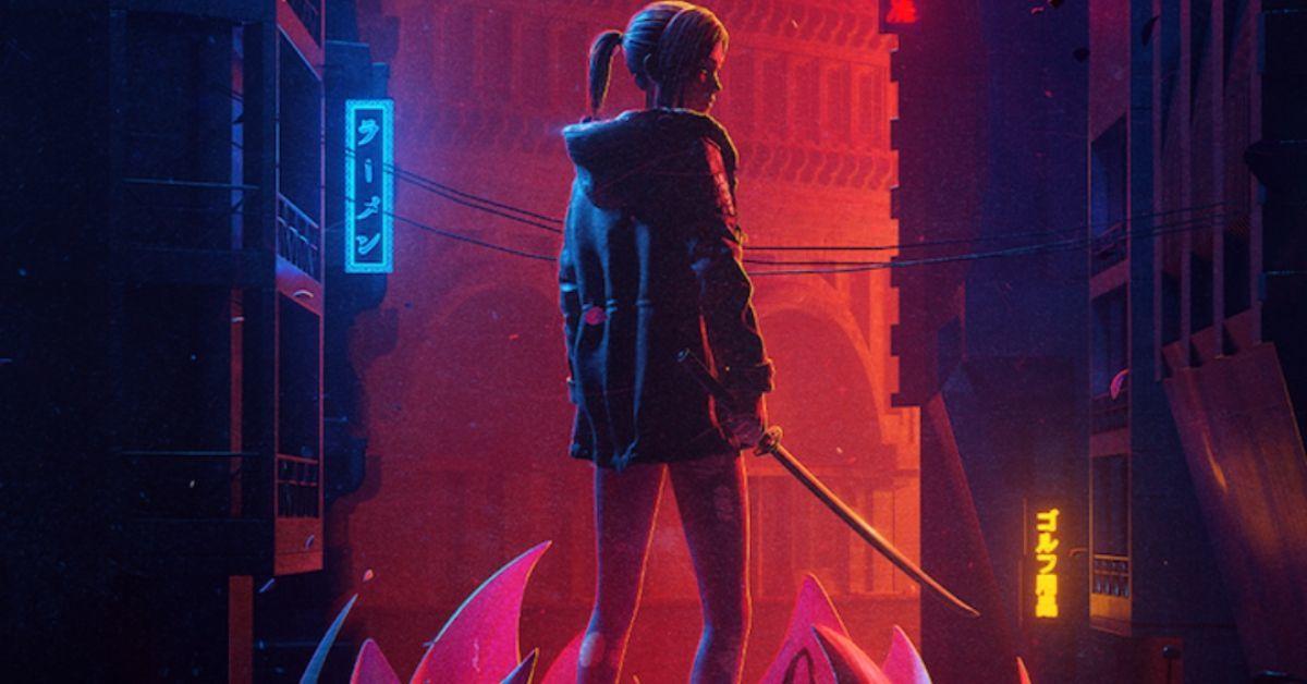 Blade Runner Black Lotus Adult Swim Crunchyroll Poster