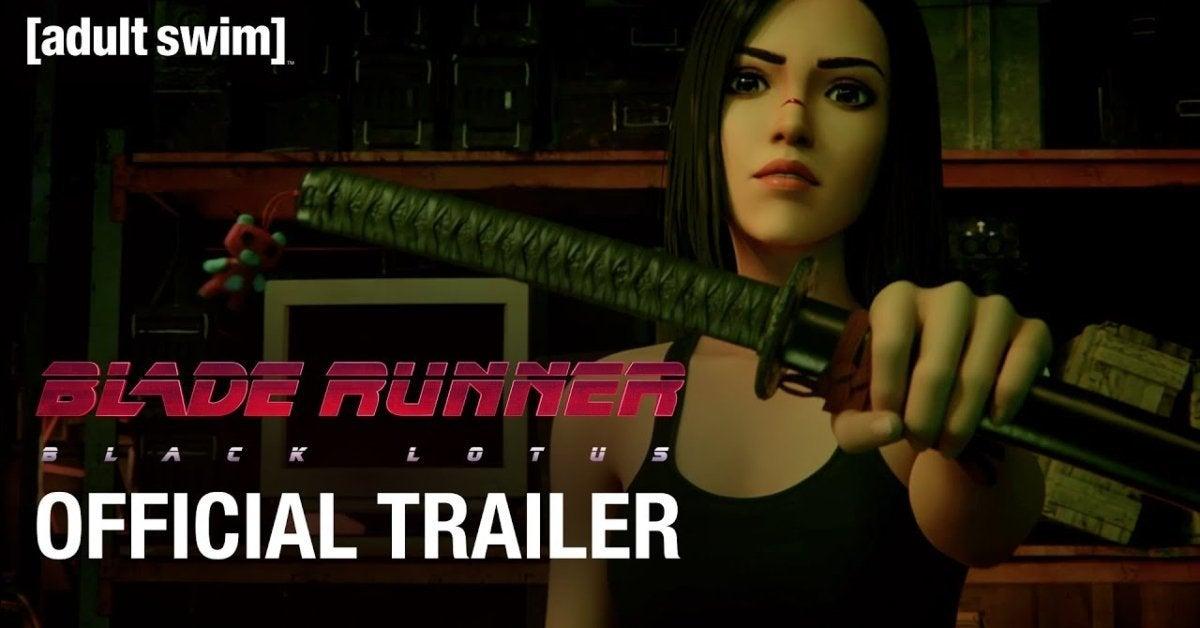 Blade Runner Black Lotus Adult Swim Crunchyroll Trailer