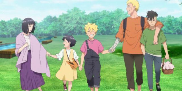 Boruto Naruto Uzumaki Family Kawaki OP 9